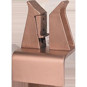 Hochstrom Kontaktblock mit abgewinkelter Grundplatte