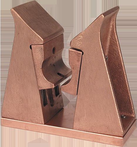 Kontaktblock doppelt- rund Erhardt-erko-500